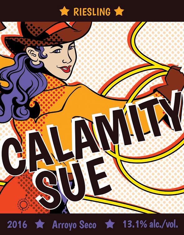 Calamity Sue Arroyo Seco Riesling