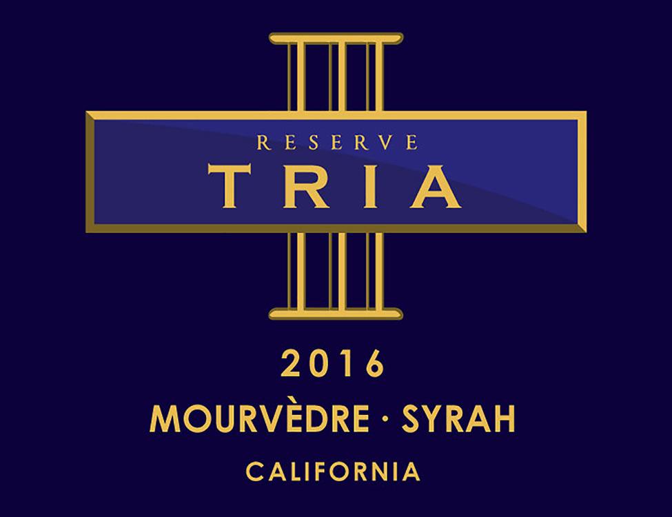 Tria Reserve Mourvèdre Syrah
