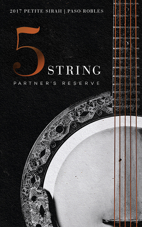 5 String Partner's Reserve Petite Sirah
