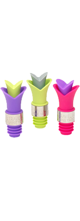 Tulip Wine Pourers