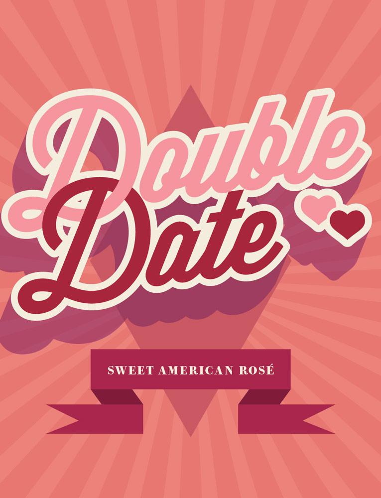 Double Date Sweet Rosé